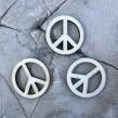 Peace Berlocker - Peacemärke trä