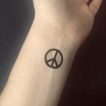 Peace Tatuering - Peace tatuering 6st