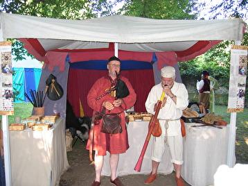 Gotland 2004. Samspel med Papa Didge