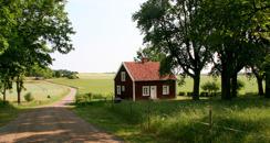Röda huset för eget boende