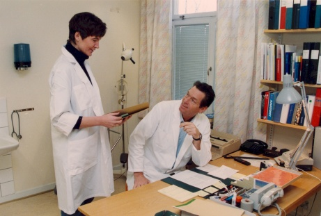 Ssk Kristina Magnusson samt doktor Svante Ebbinghaus