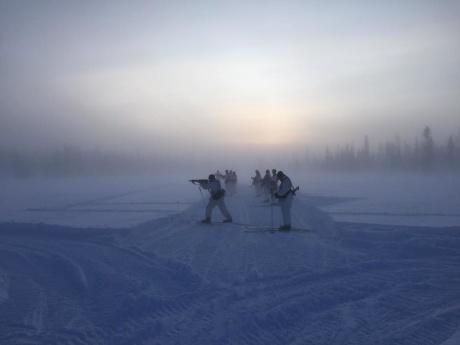 MHS-H genomför vinterutbildning i Arvidsjaur