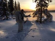 MHS-H vinterutbildning med SOU i Arvidsjaur