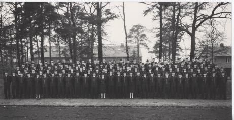 Kursavslut på FOHS under 1980-tal