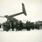 Nödlandning 1946 B18 Härnösand