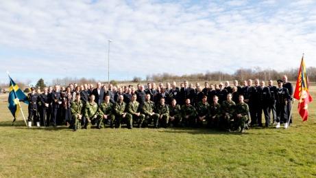 Den 1 januari 1999 startade Militärhögskolan Halmstad (MHS H) upp som förband. Idag firades de första 20 åren genom att både titta tillbaka, men framförallt blicka framåt. MHS H har sedan starten varit en mycket viktigt kugge i Försvarsmaktens personalförsörjningssystem.