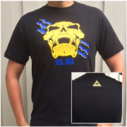T-shirt, RB- dödskalle