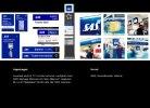 SAS Signage, skyltar och minitorbilder för SAS trafikerade flygplatser