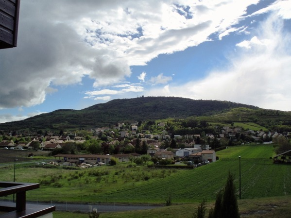 Berget där Gergovia låg sett från öster.