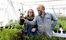 Susanne Lundberg och John Söderberg på Källdalens trädgårdar.