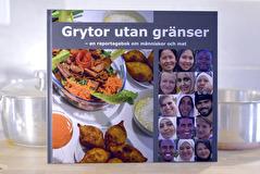 Boken Grytor utan gränser handlar om kulturmöten, livsöden och recept från hela världen.