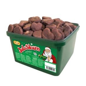 Julskum Choklad doppad - Juleskum choklad doppad