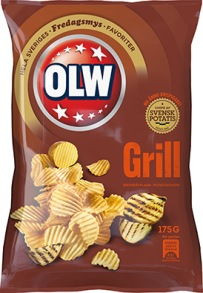 Olw Grillchips 175g -