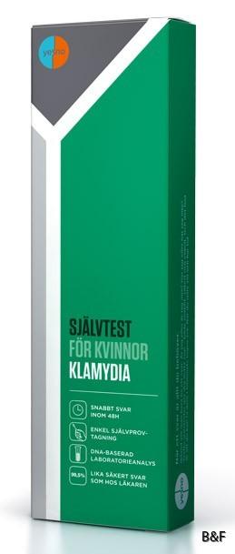 svar på klamydia test