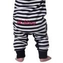 Lundmyr Pyjamas Vit & Svart Baby/Junior