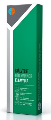 Klamydiatest - Kvinna - Självtest