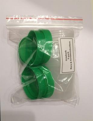 Urinburk 100ml med lock - Urinburk 5-pack