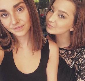Stephania och Vanessa Koroly