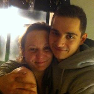 Mor och son.
