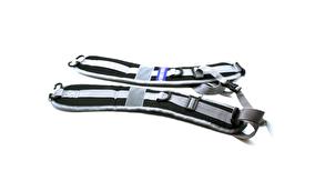 Ryggremmar - Med carbinhake aluminium