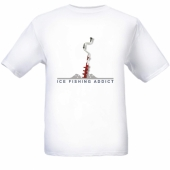 Ice Fishing Addict T-shirt