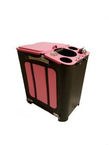 Go Fish It! Pink Edition - Spöhållare och förvaringsband omonterade