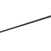 Klinga mediumstyv kolfiber svart