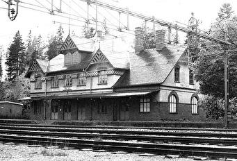 Snytens station strax före rivningen på 70-talet