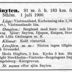 Utdrag ur Sveriges Statsbanors Stationer, tryckt 1915