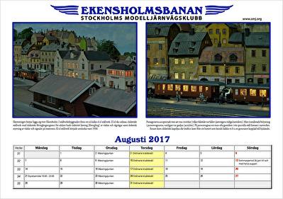 Kvällståg från Ekensholm