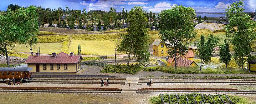 Stationshuset i Kolaråsen