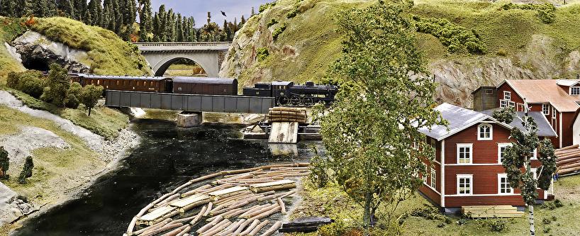 Svetsad plåtbalkbro, ånglok litt A7