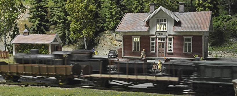 Malmtåget och dieselloket