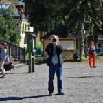 En fotograf