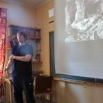 Rickard berättar om gruvdriften