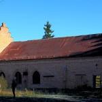 Maskinhuset vid gamla gruvan