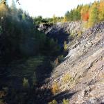 Dagbrott vi gamla gruvan
