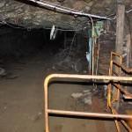 In mot gruvan på 80-meters nivån