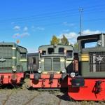 TGOJ-diesellok av olika modeller
