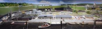 Vy 7.Mohällarne olje- och styckegodshamn