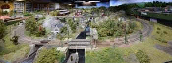 Vy 8.Bångfors kanal och hytta