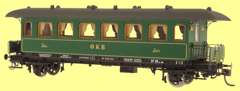OKB litt C3, personvagn