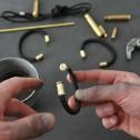 bracelet paracord bullet - Olive