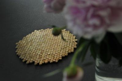 trivet 225 gold -