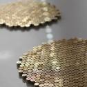 trivet 225 gold