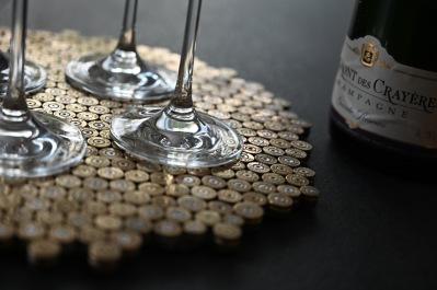 trivet 455 gold -