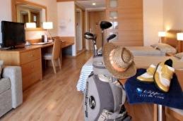 Apartment Clipper - 7 nätter lägenhet 2 pers inkl. bufféfrukost, hyrbil, flyg, 4 greenfees, 3 greenfee Emporda, 1 Gualta