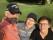 Selfie Golf de Geuex Henrik Jan Christine 2