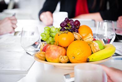 Färsk frukt på jobbet