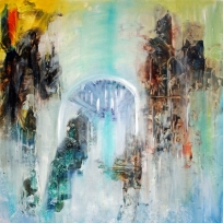 The name of your inner place 67X67cm